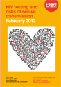 HIV Testing and Risks of Transmission