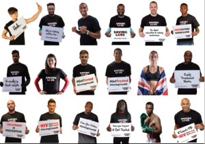 18 Sports Stars Supporting National HIV Test National