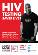 DJ Francis HIV testing week