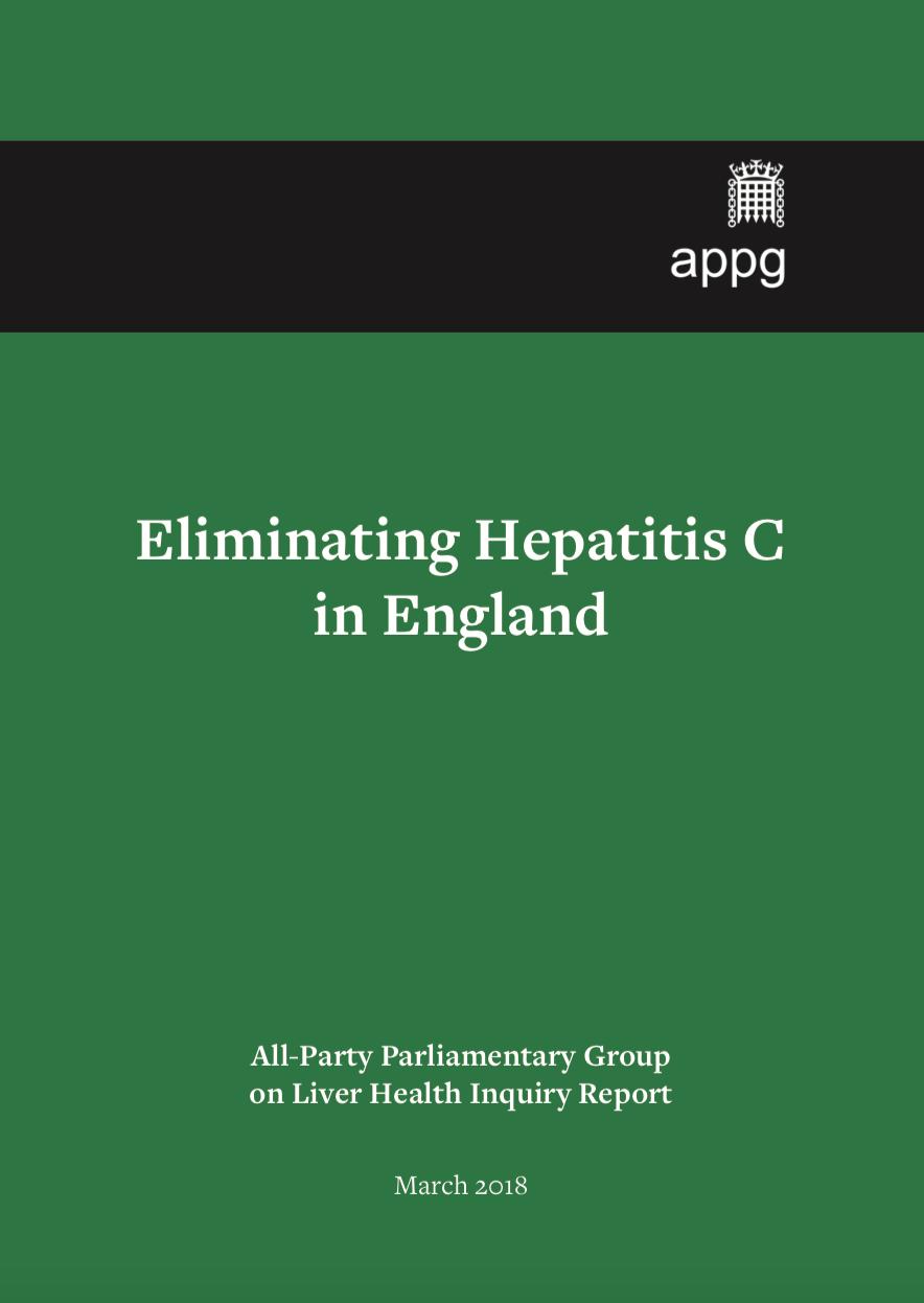 Eliminating Hepatitis C in England report