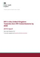 HIV in the UK 2019