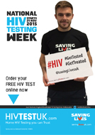 Jack Butland, HIV Testing and Saving Lives