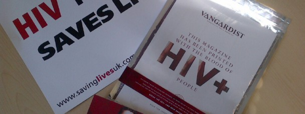 Vangardist Magazine Printed in HIV Positive Blood Has Arrived